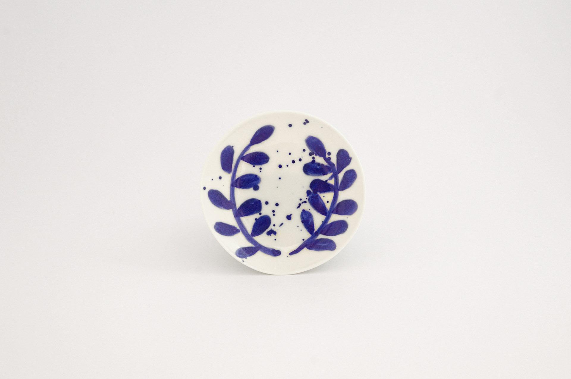 Julie Smeros Ceramics - Wreath Plate - 2018