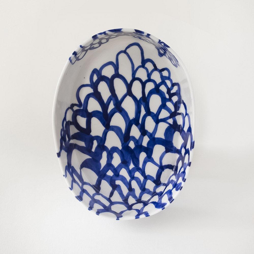 Julie Smeros Ceramics - Blue Hills Bowl - 2018