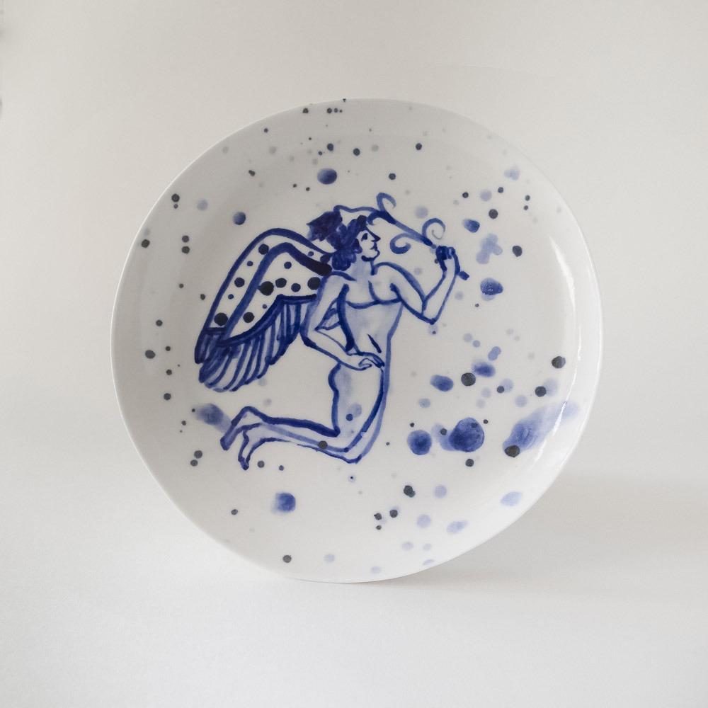 Julie Smeros Ceramics - Figure Plate - 2018